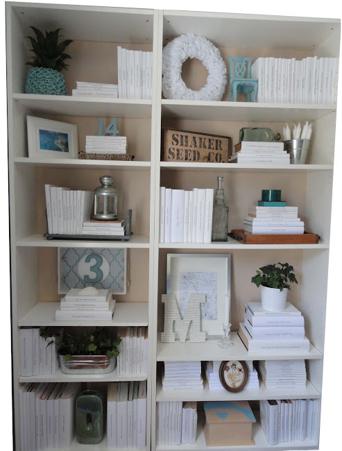 buy online 4b53d f3f0b Remodelaholic | Staging A Bookcase Beautifully