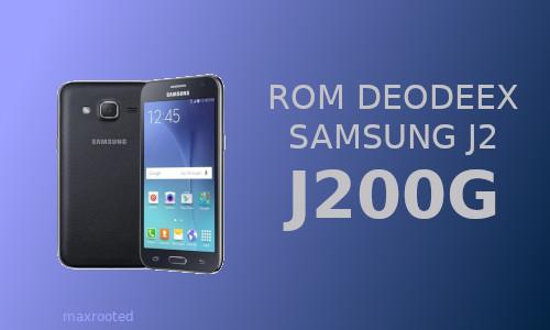 Stock ROM Deodex Samsung J2 [SM-J200G]