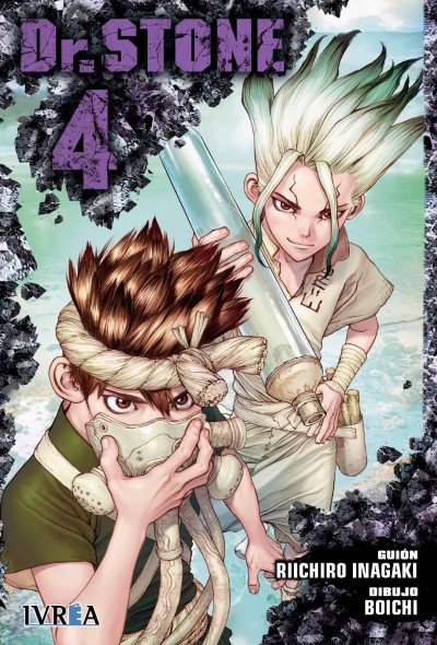"reseña de ""Dr. STONE"" vol.4 de Riichiro Inagaki y Boichi - Ivrea"