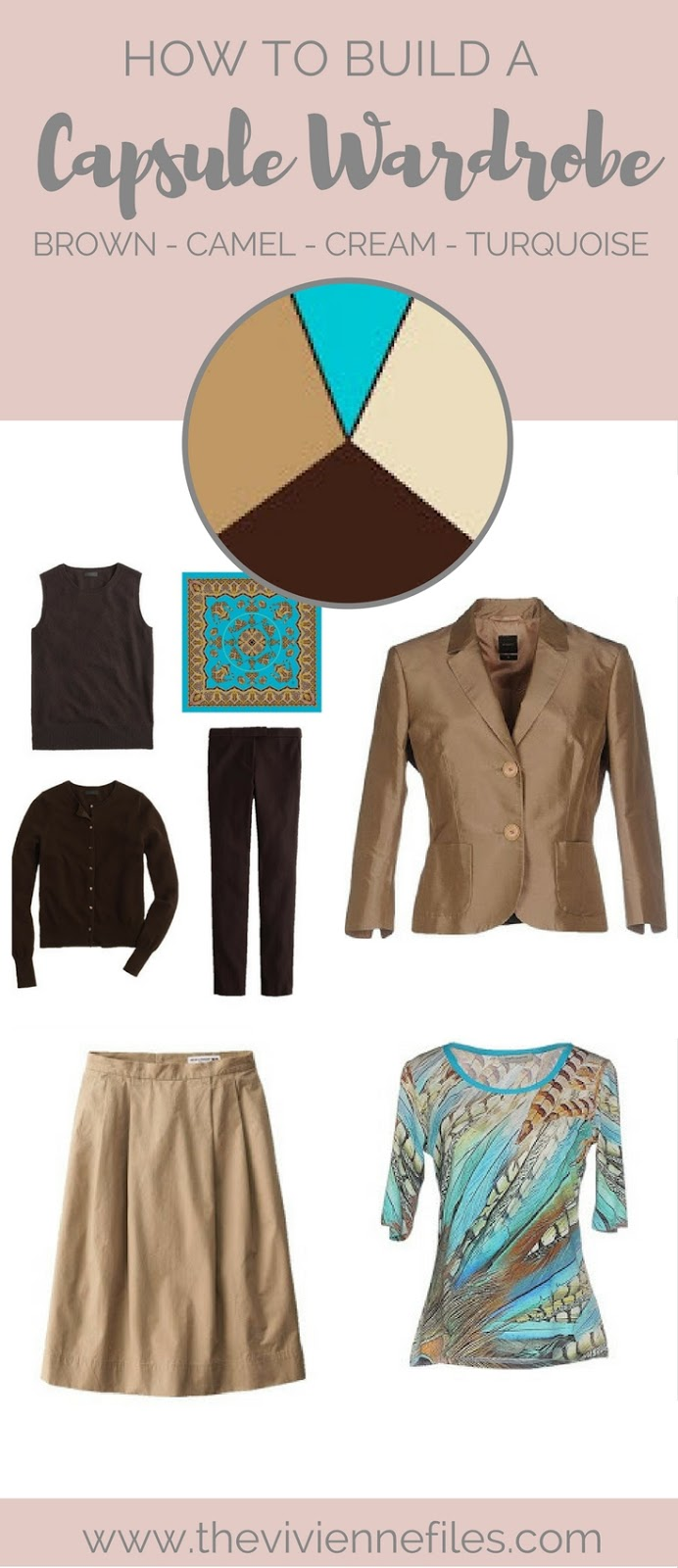 How To Build A Capsule Wardrobe In Brown, Camel, Cream And
