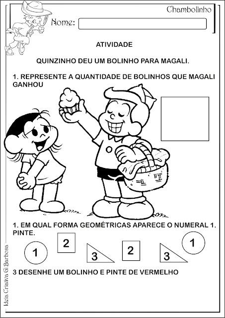 Atividade Matemática Educação Infantil