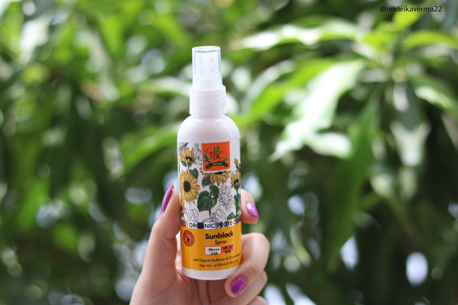 TBC By Nature Sunscreen Spray New Launch