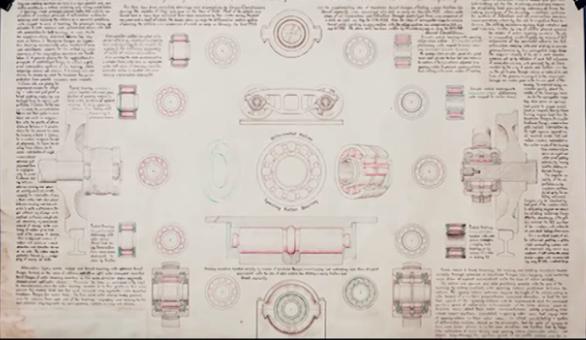 Diagramas de OVNIs y detalles de testimonios
