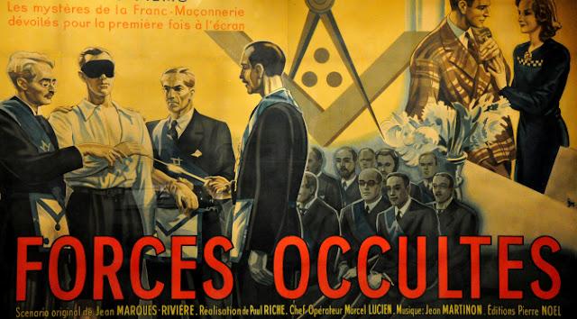 Fuerzas Ocultas (1943) película Francesa que denuncia la Masonería