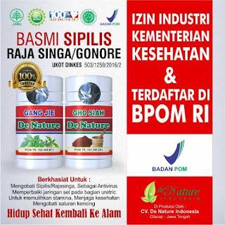 Nama Obat Sipilis Paling Ampuh 100% Herbal Alami