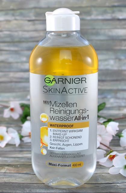Garnier Skin Active Mizellen Reinigungswasser waterproof