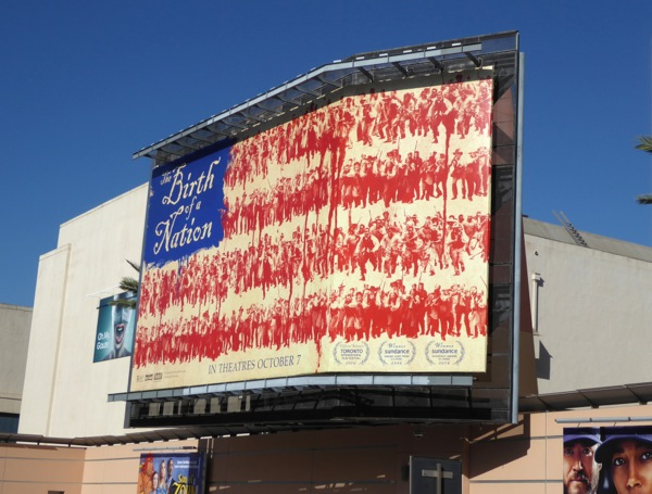 Birth of a Nation Stars and Stripes billboard