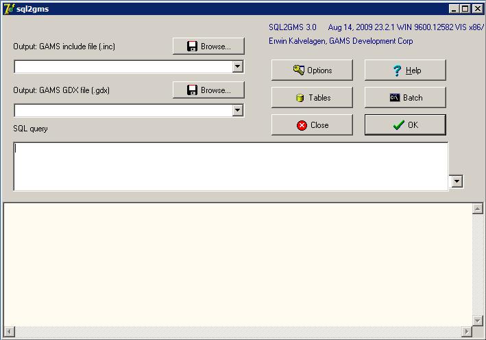 Connect GAMS to PostgreSQL-PostGIS (w/ sql2gms) | Moving Spatial