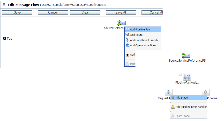 OSB 11g - Use XSLT file in Oracle Service Bus - Oracle