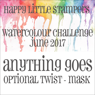 +++HLS June Watercolour Challenge до 30/06