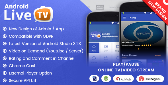 live tv apps free download for android