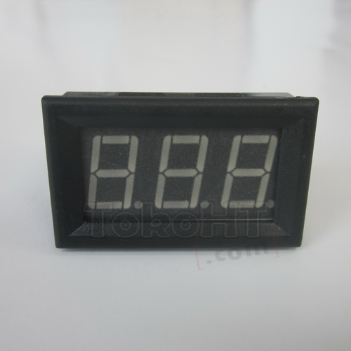 Voltmeter Digital LED Hijau