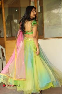 Actress Nikitha Bisht Stills in Lehenga Choli at Pochampally Ikat Art Mela Launch  0381.JPG