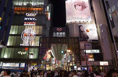 Shinsaibashi (tempat wisata favorit Osaka)