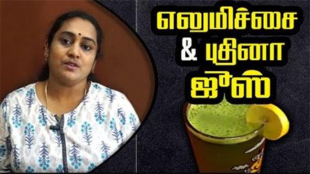 lemon mint juice in Tamil | Summer Special Healthy Drink