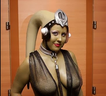 return of the jedi twilek cosplay