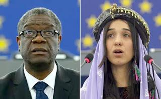 Denis Mukwege, Nadia Murad awarded 2018 Nobel Peace Prize