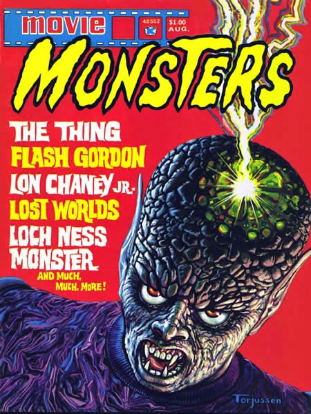 Atlas Seaboard Movie Monsters #4, The Thing From Outer Space