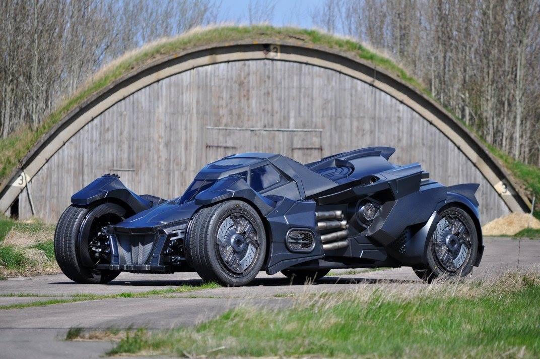Siêu xe Caresto Arkham Car đã hiện thực hóa ước mơ của các tín đồ phim Batman