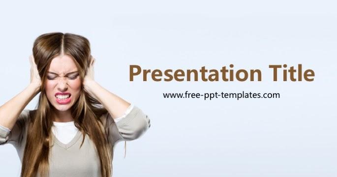 Stress PowerPoint Template