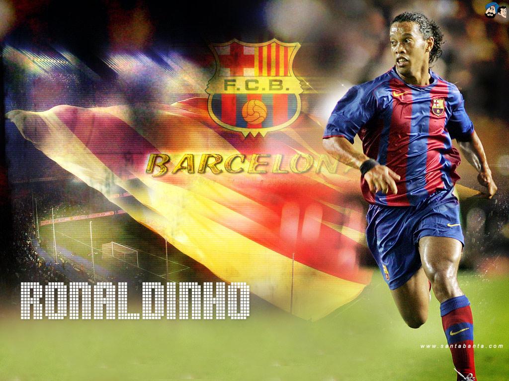 Cool Sports Players Ronaldinho Wallpaper