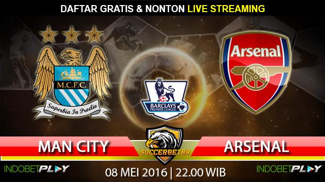 Prediksi Manchester City vs Arsenal 08 Mei 2016 (Liga Inggris)