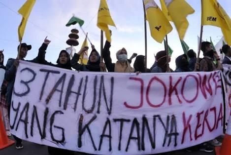 PMII: Demo 3 Tahun Jokowi-JK di Istana,  Aspirasi Mahasiswa Tidak Boleh Dihalangi