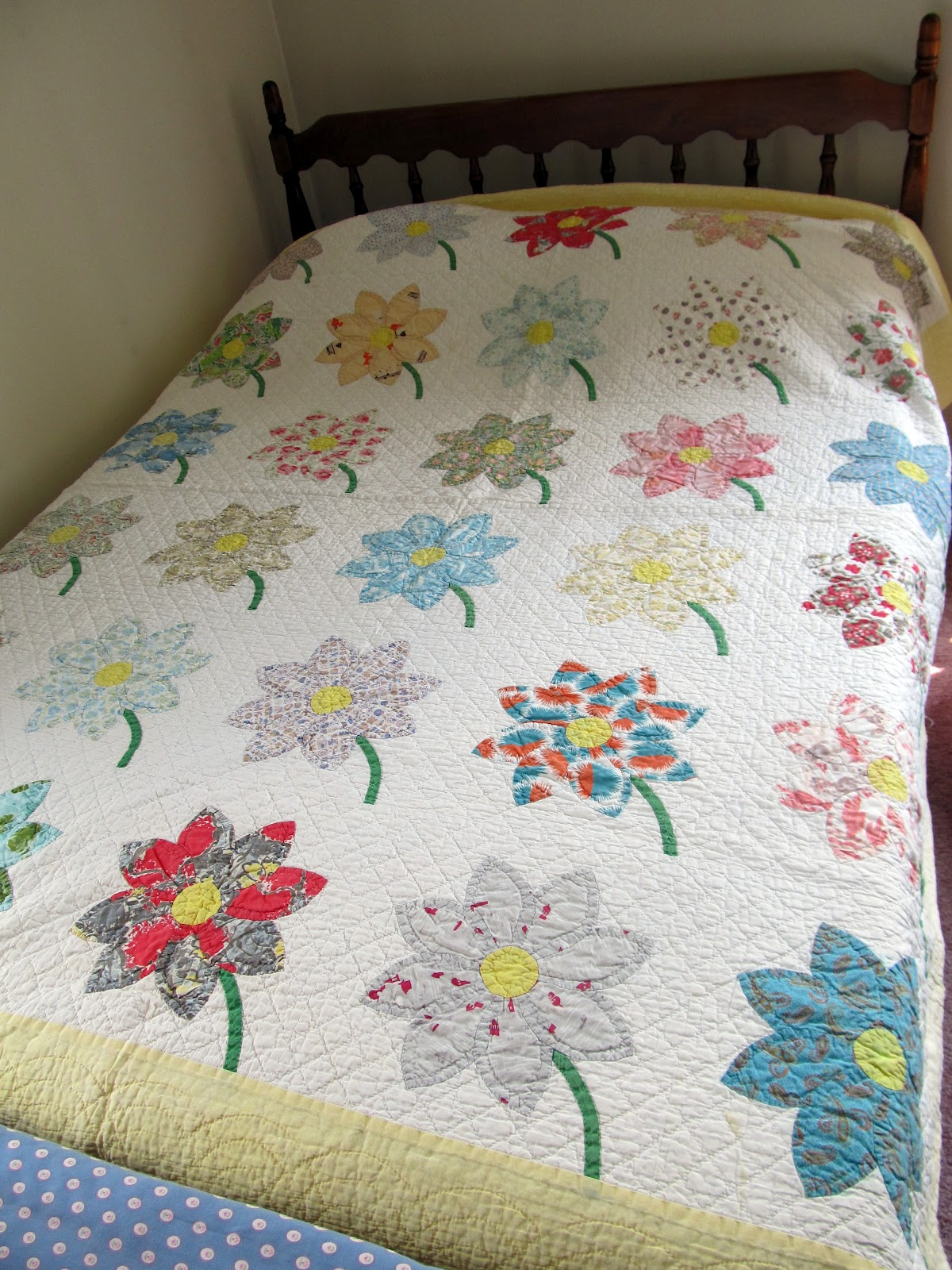 Jayne's Quilting Room: Grandma's Quilts : daisy quilts - Adamdwight.com