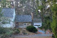 Log cabin at Josiah Henson Park