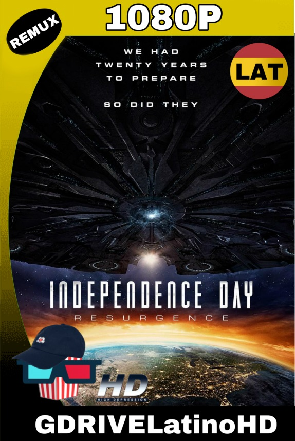Independence Day Contraataque (2016)[LAT] BDREMUX 1080P MKV