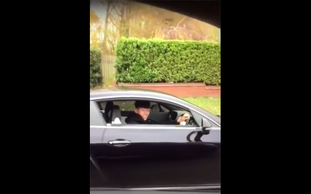 A West Ham fan filmed racially abusing Tottenham player Son Heung-min