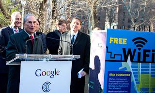 Free Google Wi-Fi in NY