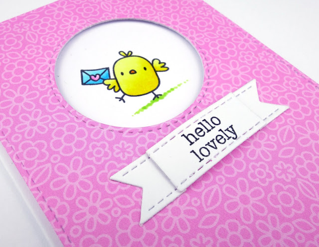 Cute chick noteletes using Little Chickie Agenda from Mama Elephant