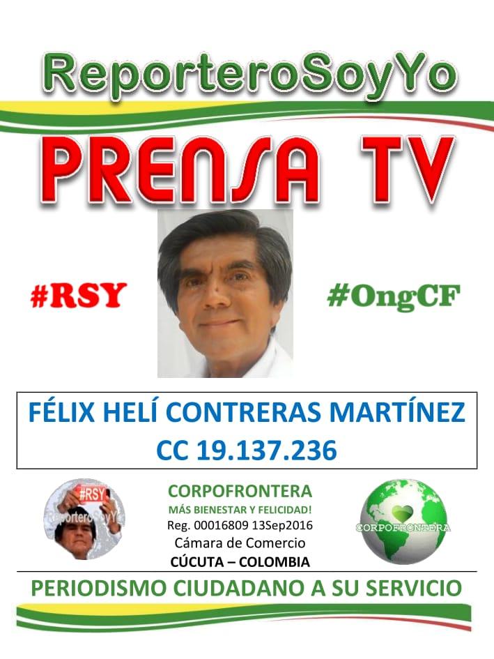 Félix Contreras les dice: Bienvenidos a CorpoFrontera Televisión #OngCF #RSY