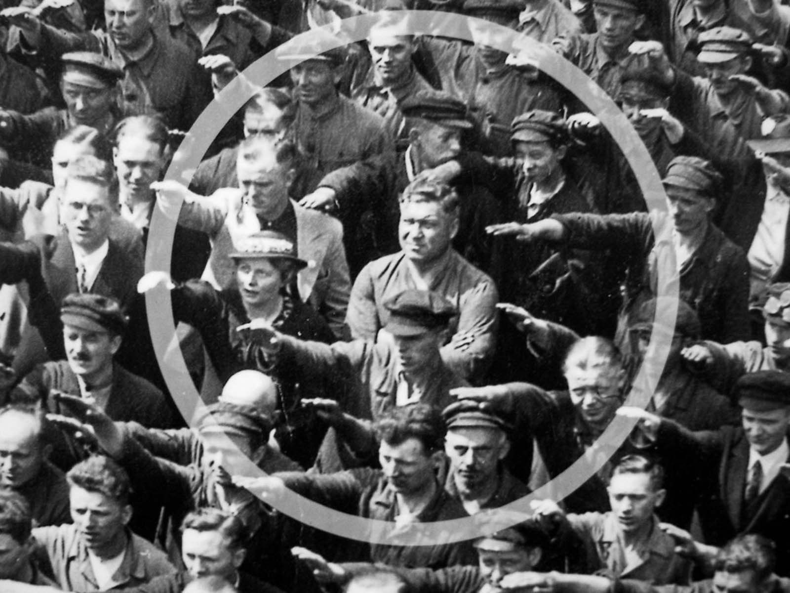 The source of Landmesser's protest, like many great tragedies, starts with a love story.
