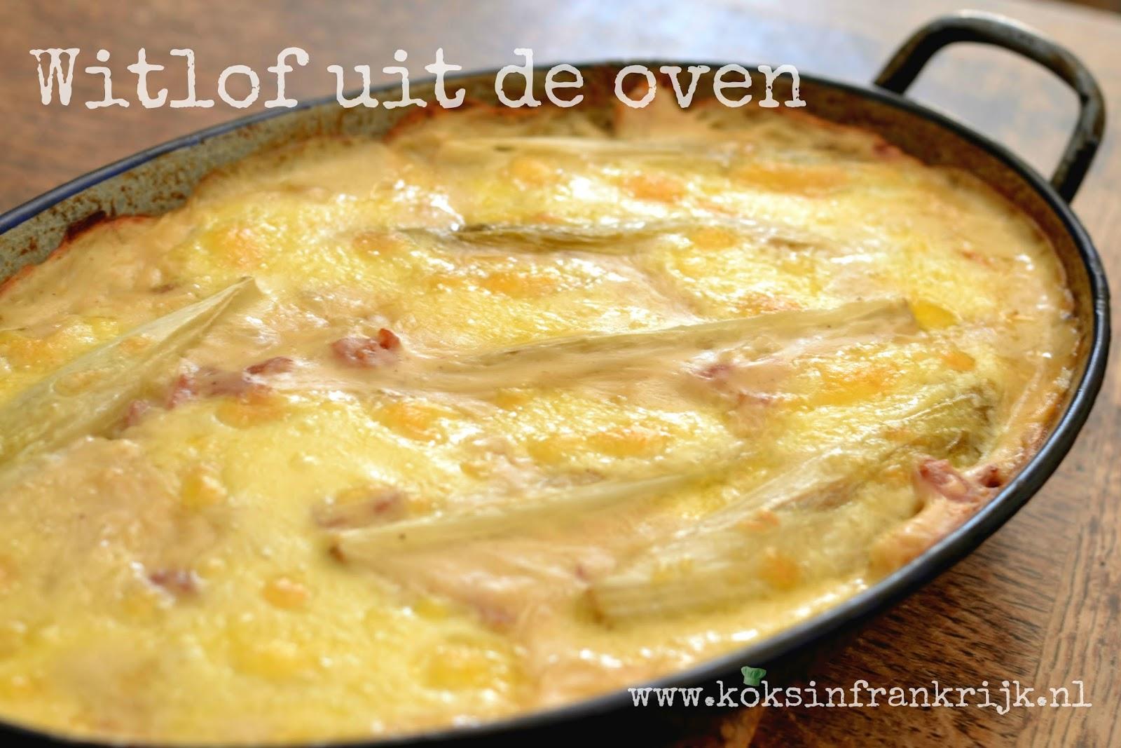 Ovenschotel met witlof en kaas