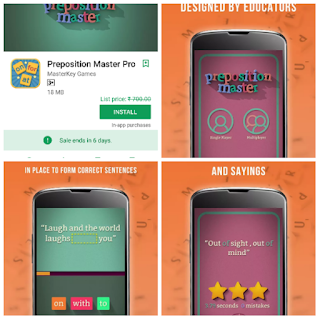 Download Preposition Master Pro paid app free of cost here