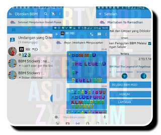 BBM Mod The Legend Of Pegelinux Versi 1.0.0 Apk