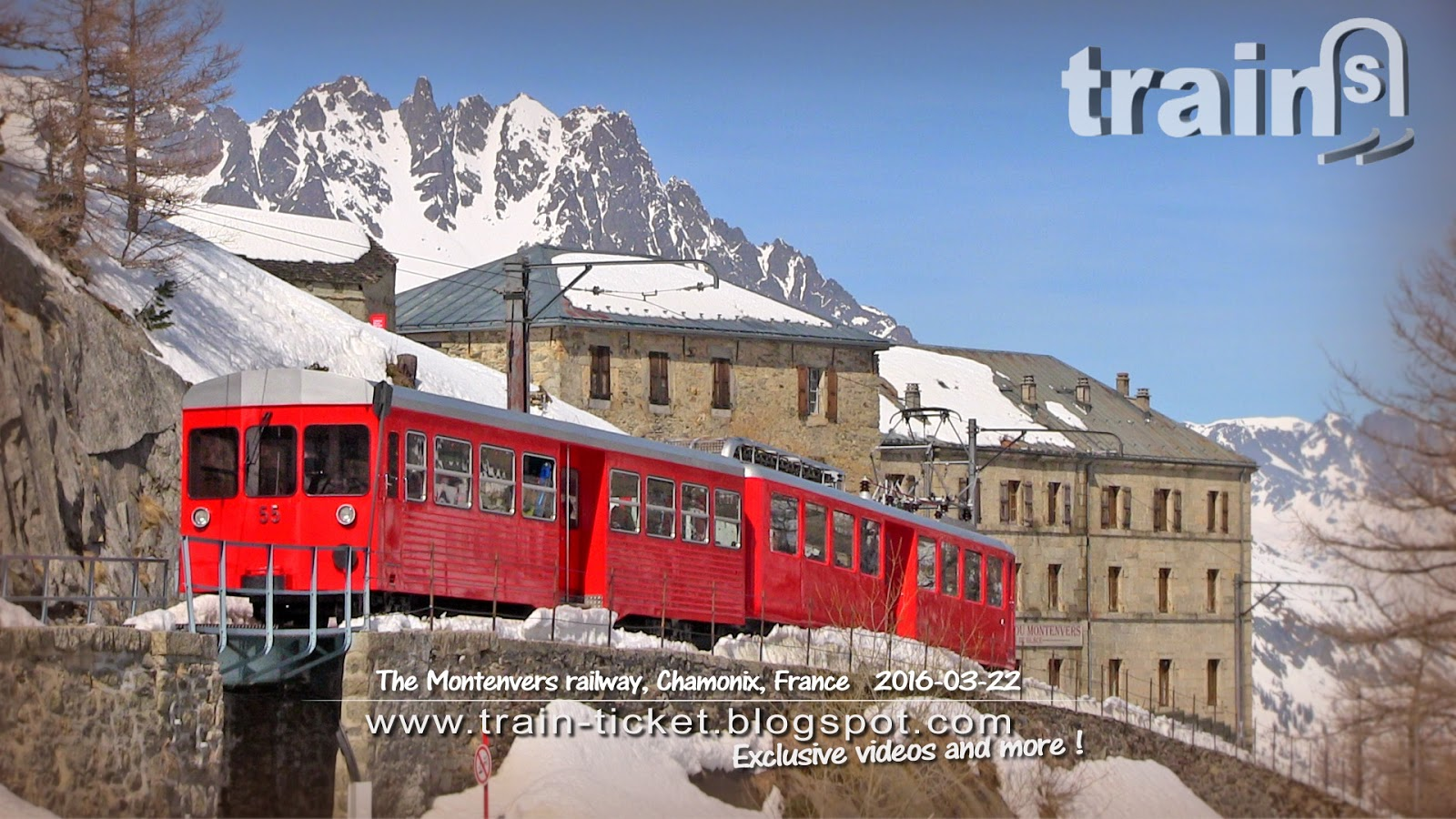 Hotel Montenvers France The Montenvers Railway Chamonix Part 1 2 Train