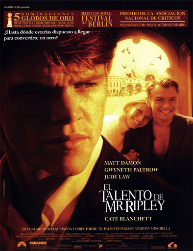 Ver El talentoso Sr. Ripley (The Talented Mr. Ripley) (1999) Online