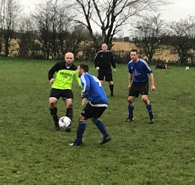 Football picture two  - Barnetby United Reserves v Crosby Colts Reserves - December 1, 2018 used on Nigel Fisher's Brigg Blog
