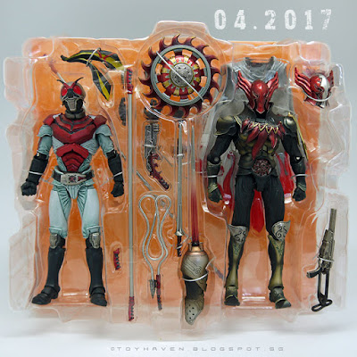 osw.zone April 2017 Haul: S.I.C. Masked Rider X and Appologeist plus S.H. Figuarts Bruce Lee Figures