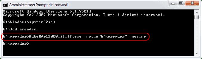 Estrazione file dall'installer