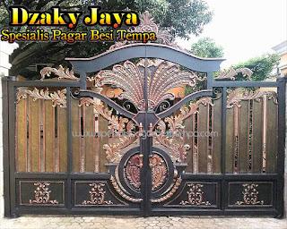 Pintu, Pagar, Gerbang, Klasik, Besi Tempa, Rumah, Mewah