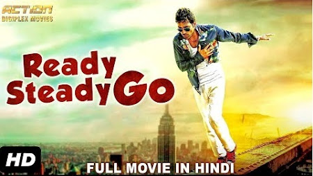 Poster Of Ready Steady Go In Hindi Dubbed 300MB Compressed Small Size Pc Movie Free Download Only At worldfree4u.com