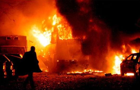 bomb blast kuje market abuja