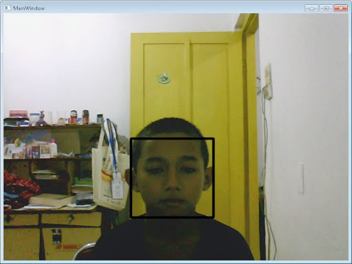 Camera Face Detection in C# using Emgu CV and WPF