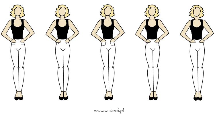 szerokie ramiona można optycznie zwęzić poszerzając biodra poprzez kieszenie