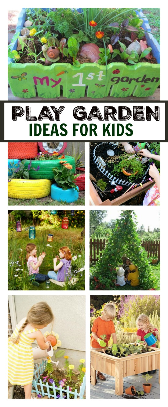 Play garden ideas for kids growing a jeweled rose for Gardening tips for kids