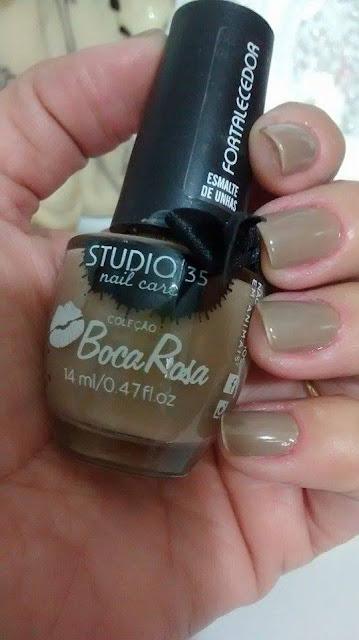 Esmalte #makeup Boca Rosa para Studio 35